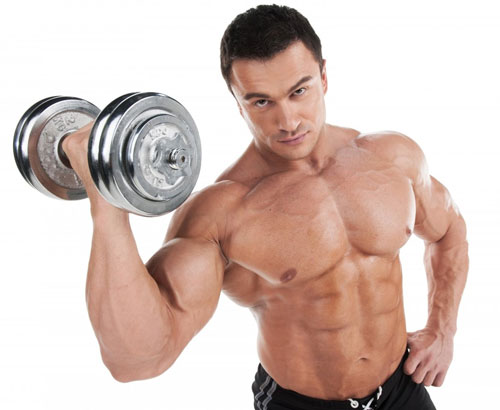 In order to have beautiful pumped up hands, it is necessary to additionally work out the muscles of the chest, back and buttocks. Otherwise, large biceps against the background of other weak muscles will not look very attractive.