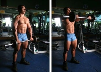 Front Deltoid Workout